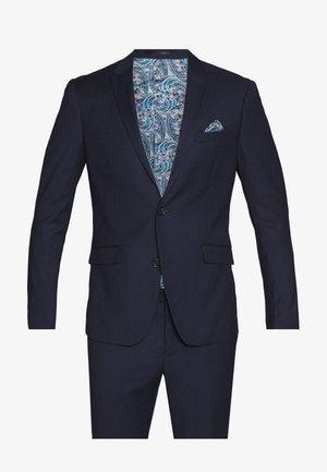DOT STRUCTURE SUIT - Suit - navy