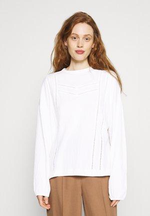 BALLOONY - Maglietta a manica lunga - off white