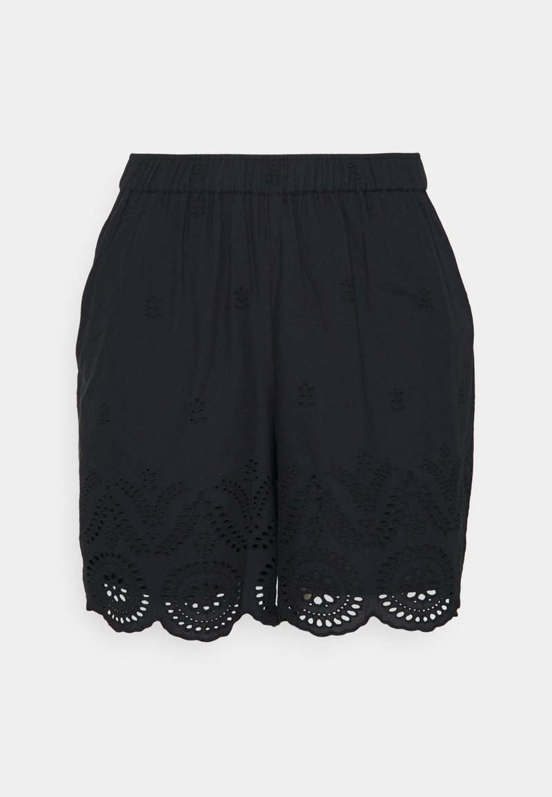 Zizzi - MALVA - Shorts - black
