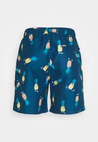 Lousy Livin Underwear - SHORTS ANANAS AND TOWEL - Plavky - blue - 2