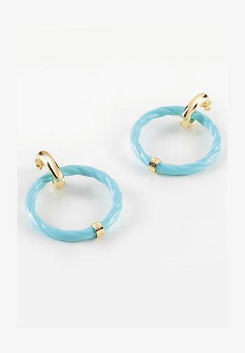 Earrings - himmelblau