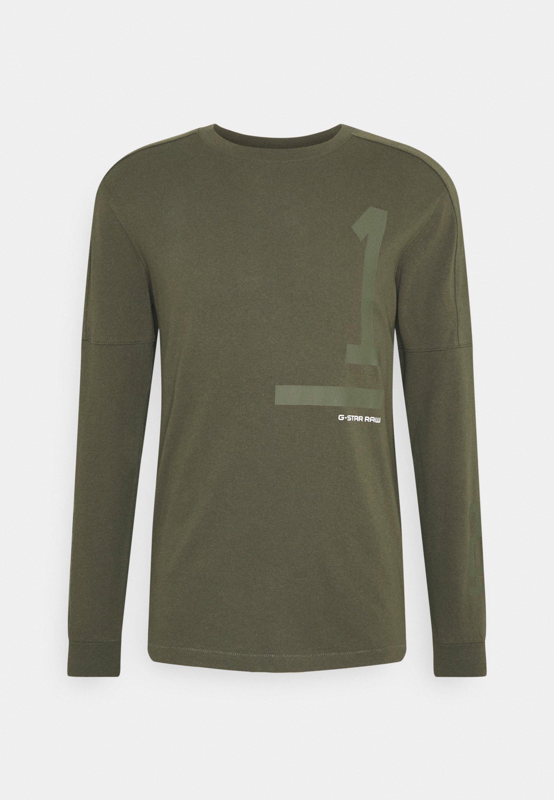 Men NUMBERS GRAPHIC - Long sleeved top