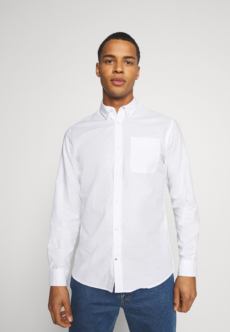 Jack & Jones - JJEOXFORD SHIRT  - Shirt - white
