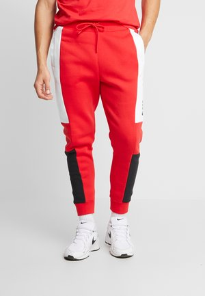 M NSW NIKE AIR PANT FLC - Teplákové kalhoty - university red/white/black