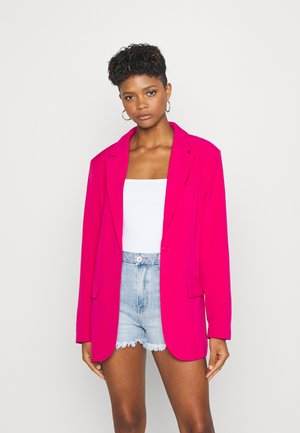 OVERSIZED STRUCTURED - Blazer - pink