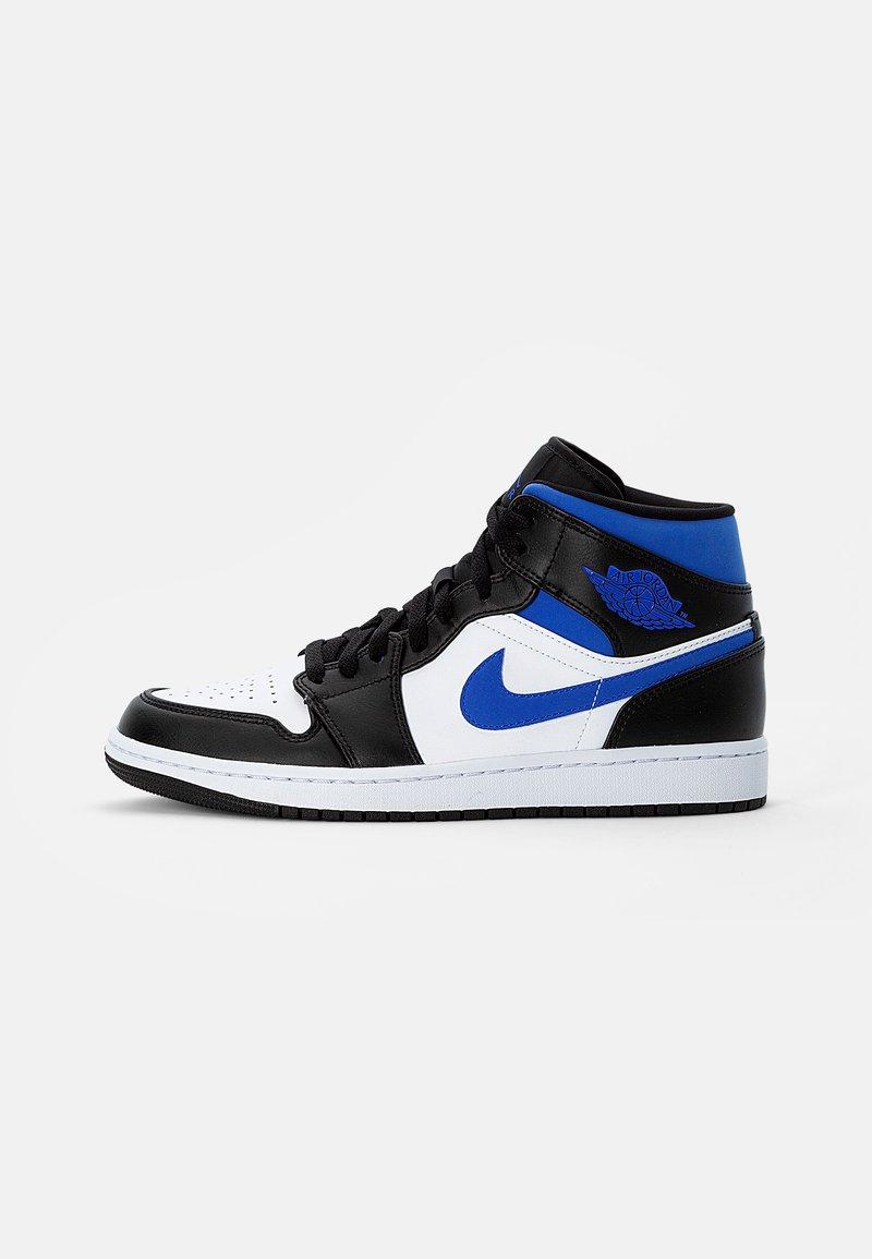 Jordan - AIR 1 MID - Korkeavartiset tennarit - white/racer blue black