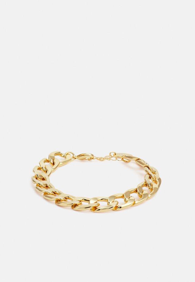 CHUNKY CHAIN BRACELET - Armband - gold-coloured