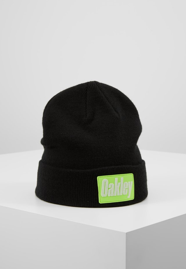 PATCH BEANIE - Czapka - blackout