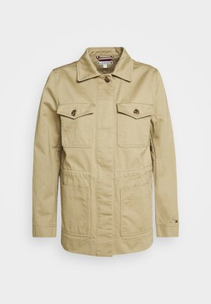 MONTI FIELD - Denim jacket - surplus khaki