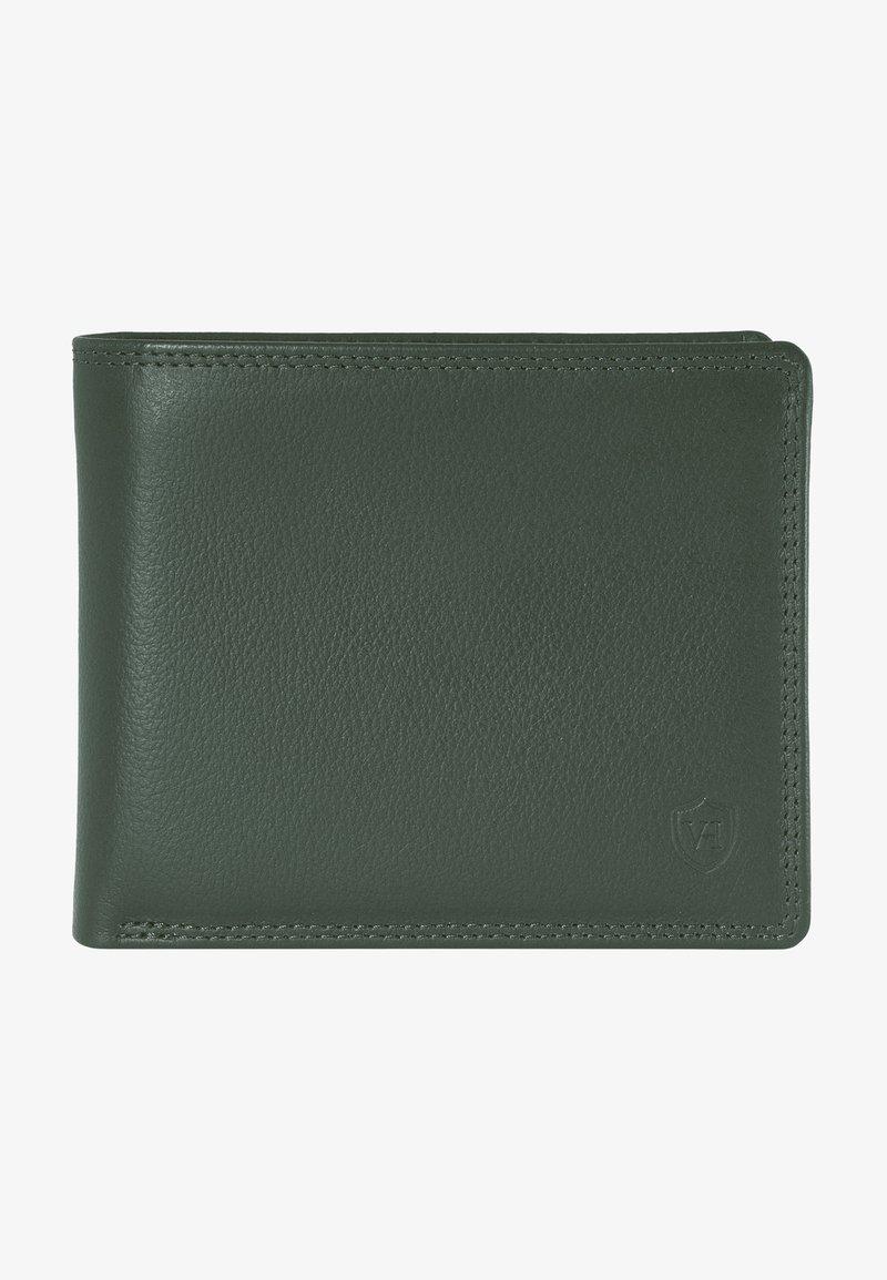 VON HEESEN - Wallet - grün (genarbt)