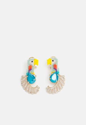 OMEGA CLASP PARROT - Earrings - multi color