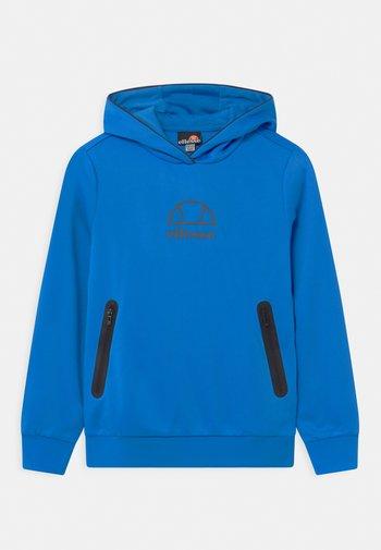 EDENI HOODY UNISEX - Long sleeved top - neon blue