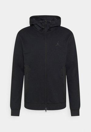 AIR  HOODIE - Sweater met rits - black
