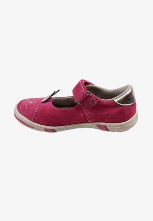 HASENLOOK - Ankle strap ballet pumps - pink