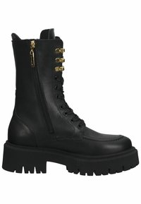 Steven New York - Lace-up boots - black leather - 6
