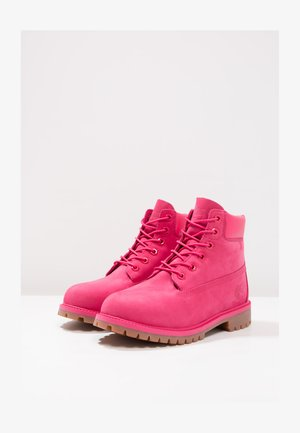 ICONIC - Bottines à lacets - rose red waterbuck