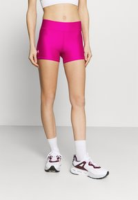 Under Armour - MID RISE SHORTY - Leggings - meteor pink - 0