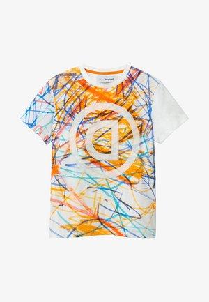 LIAM - T-shirt print - white