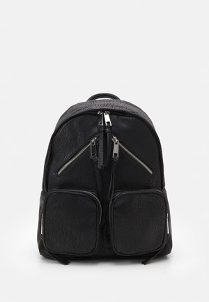 ZIP SKATER BACKPACK - Rucksack - black