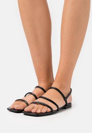 EASY  - Sandals - black