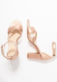 Anna Field - LEATHER - Sandals - rose gold - 3
