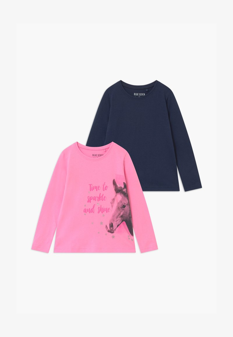 Blue Seven - GIRLS STYLE 2 PACK - Long sleeved top - multi-coloured