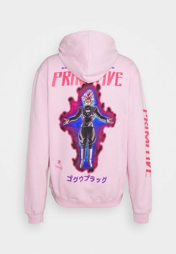 Primitive GOKU HOOD - Bluza - pink/rÓżowy Odzież Męska MNZK
