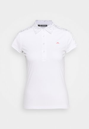 CARA GOLF - Polo shirt - grey white