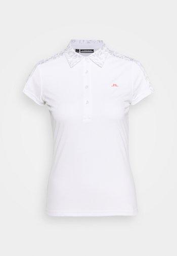 CARA GOLF - Polo shirt - grey white