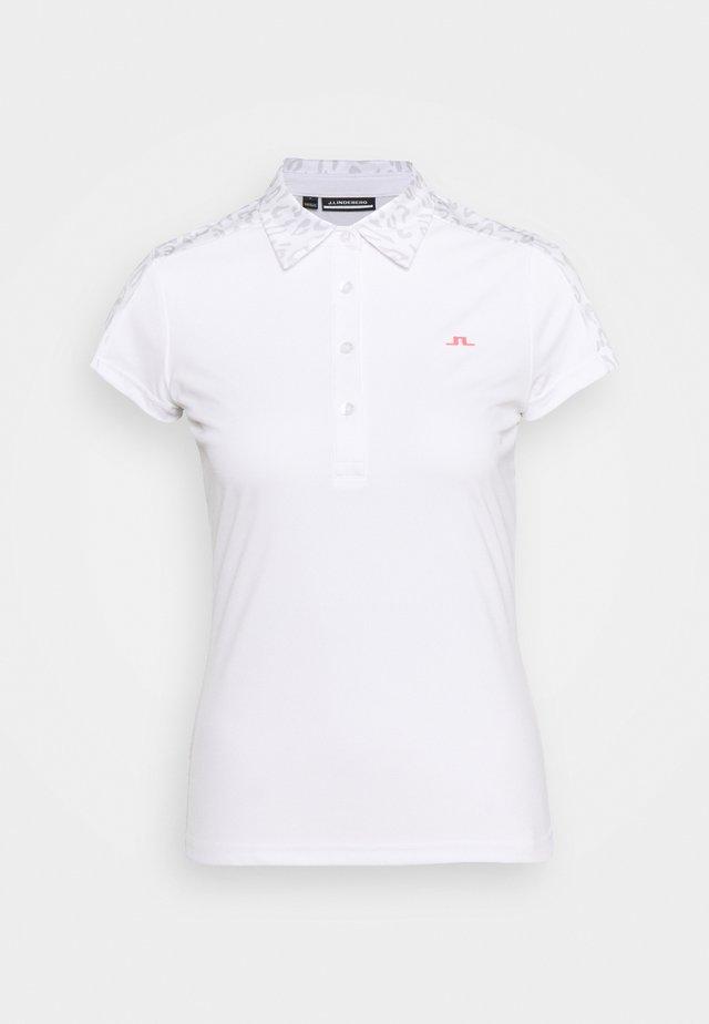 CARA GOLF - Poloshirt - grey white