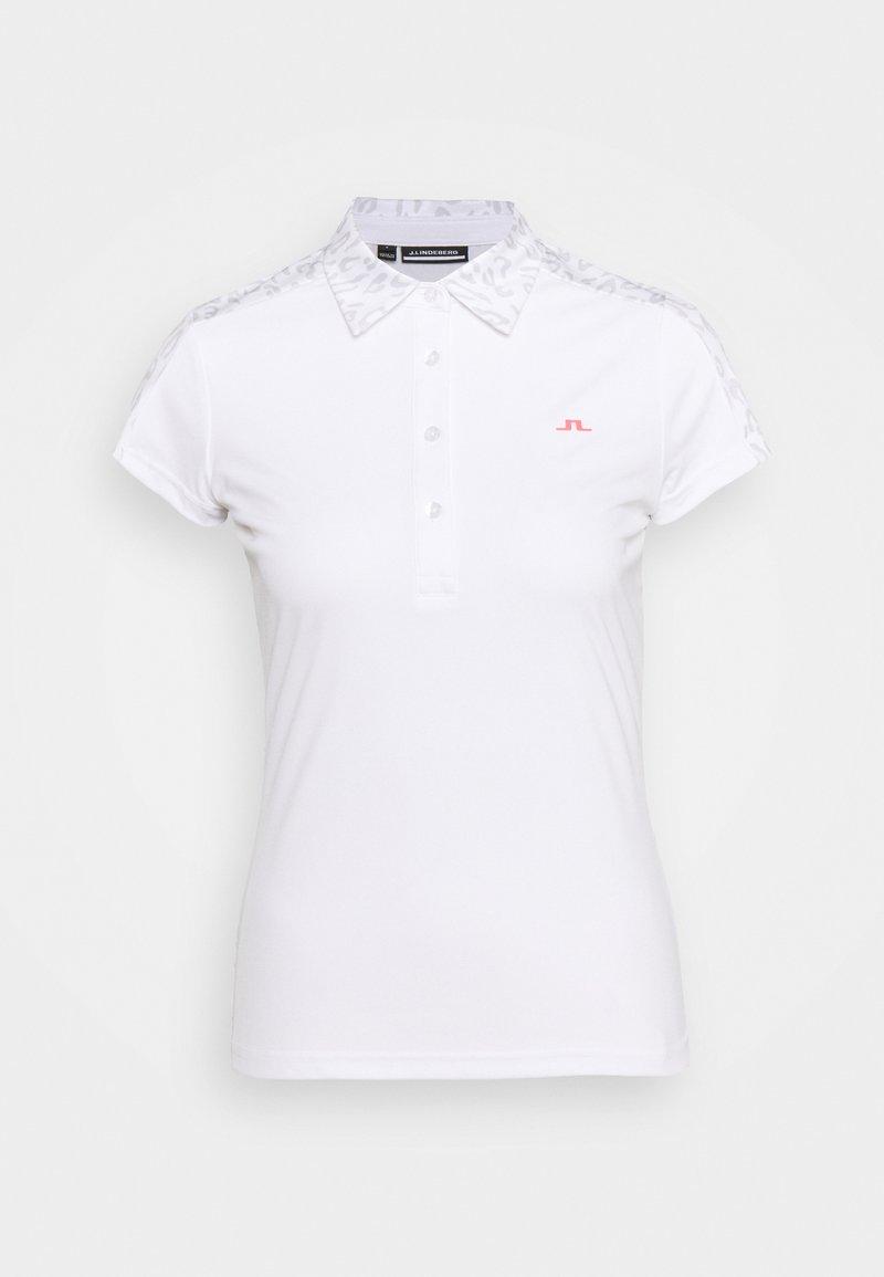 J.LINDEBERG - CARA GOLF - Polo shirt - grey white