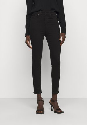 NINA HIGH RISE ANKLE - Jeans Skinny Fit - black