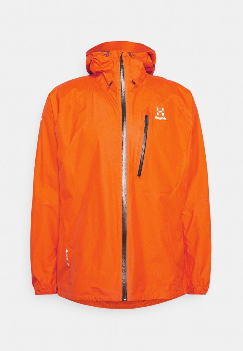 Haglöfs - JACKET MEN - Hardshell jacket - flame orange