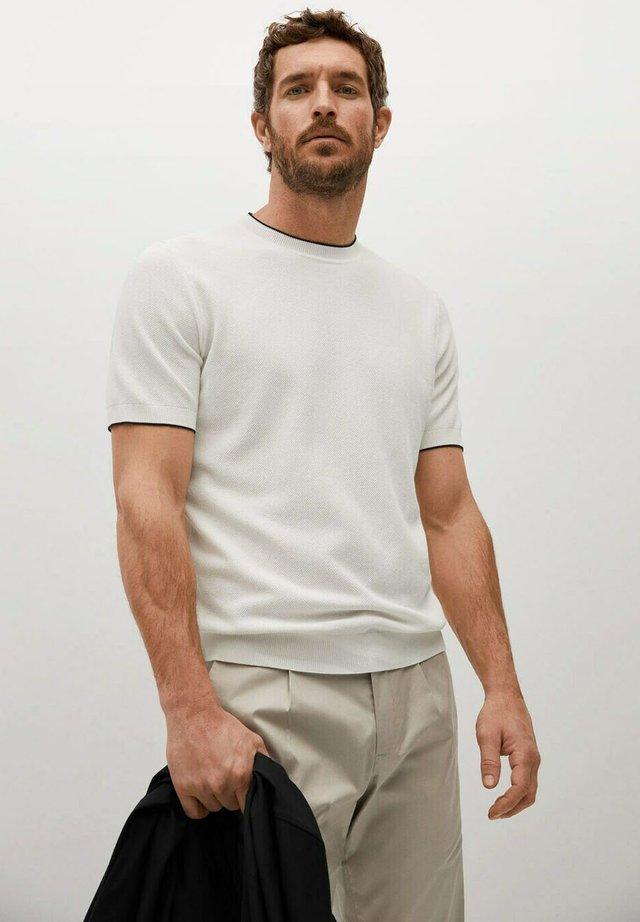 ROSS - Basic T-shirt - white