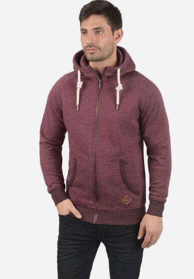 VITU - Zip-up hoodie - dark red