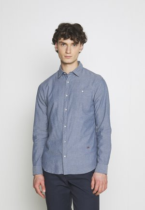Shirt - medium blue denim