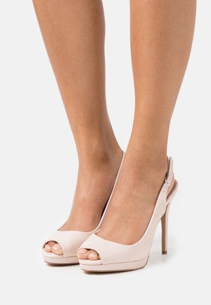 DALLAS - Peep toes - blush
