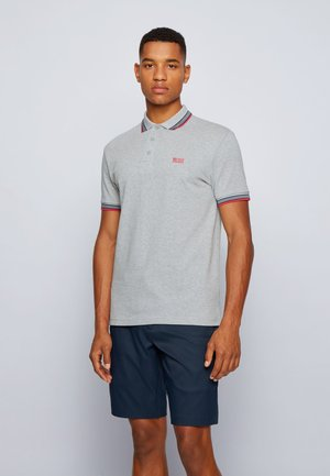 PADDY - Polo shirt - open grey