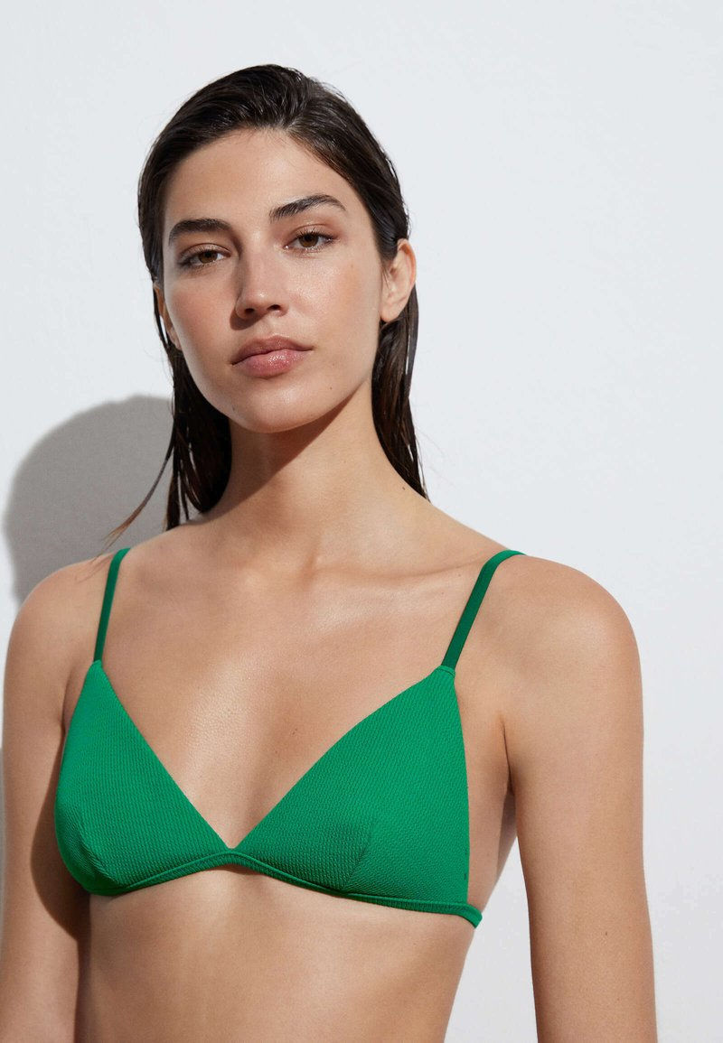 OYSHO - Bikini top - green