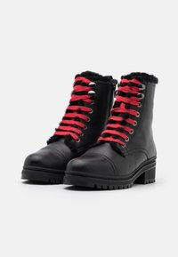 Unisa - IRACHE - Lace-up ankle boots - black - 2