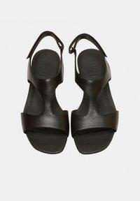 Camper - Sandaalit nilkkaremmillä - black - 1