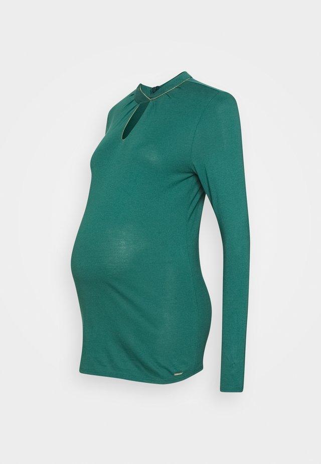 Bluzka z długim rękawem - hay green