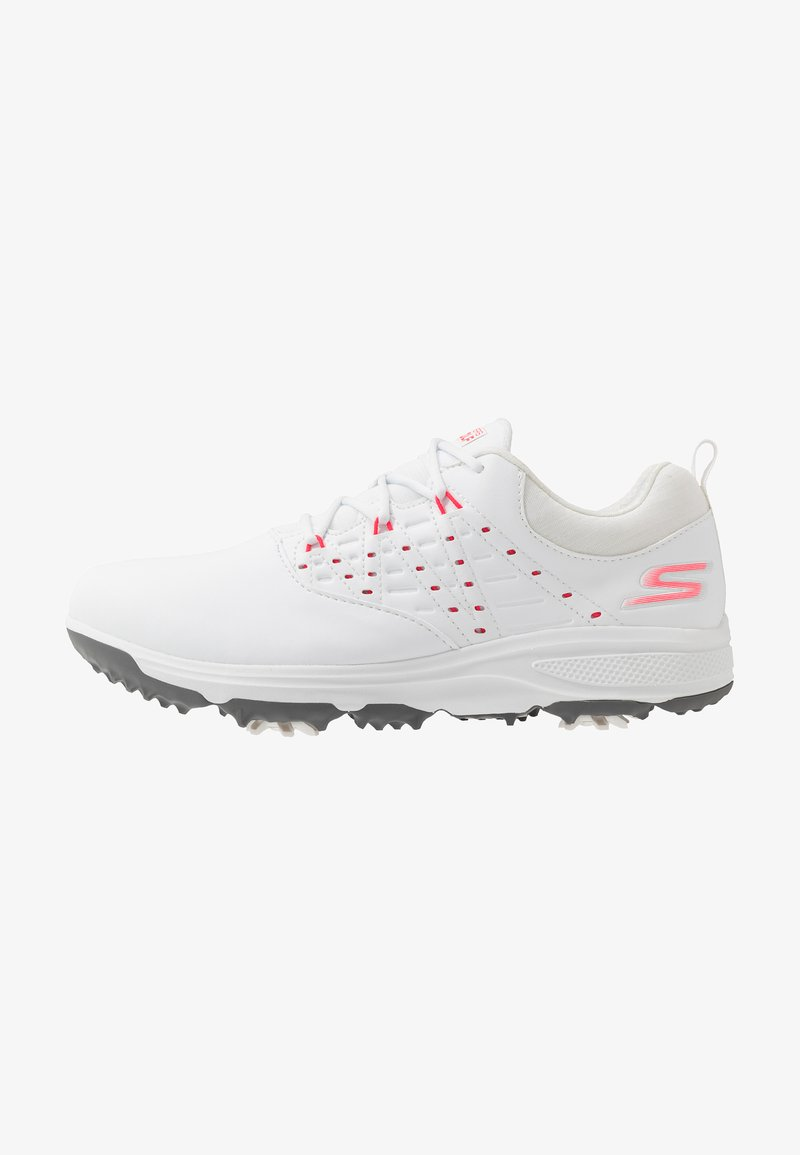 Skechers Performance - GO GOLF PRO 2 - Golf shoes - white/pink