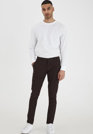 TOFREDERIC - Chinos - mottled brown