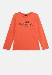 Peak Performance - Pitkähihainen paita - clay red - 0