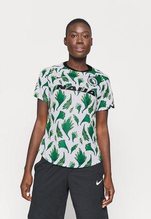 NFF NIGERIA DRY - Nationalmannschaft - white/pine green/black