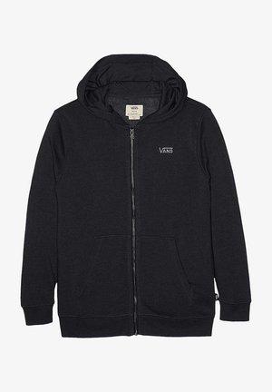CORE  - Zip-up hoodie - black
