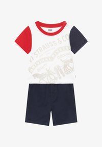 Levi's® - COLOR BLOCK TEE SET - Shorts vaqueros - white - 3