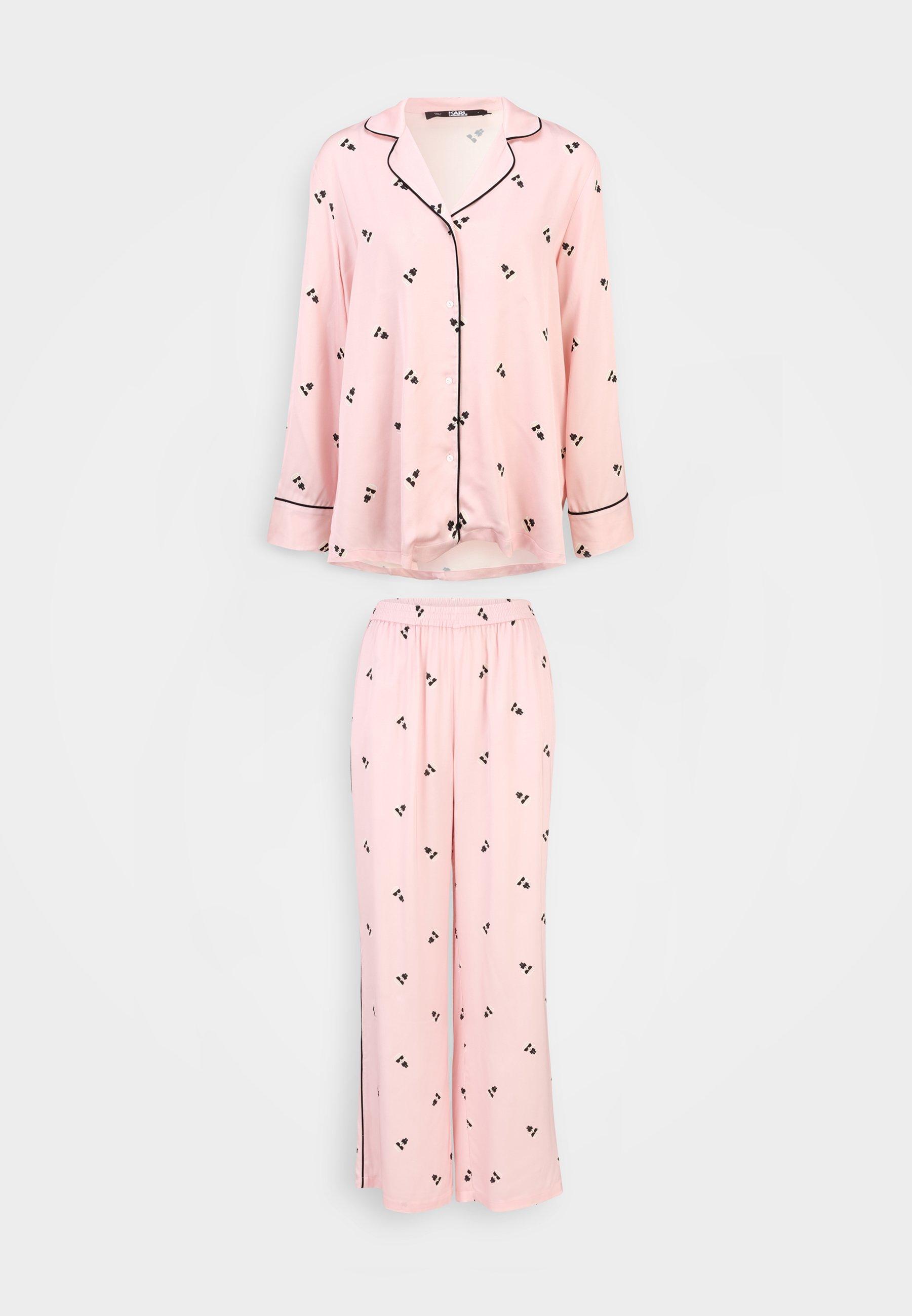 Damen ALL OVER IKONIK SET - Pyjama