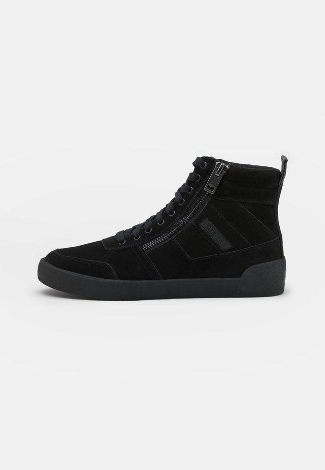 D-VELOWS S-DVELOWS SNEAKERS - Sneakers hoog - black